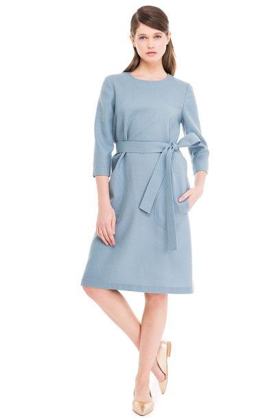 Oversized Wool Dress