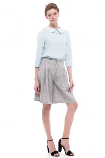 Wide Leg Short Pants