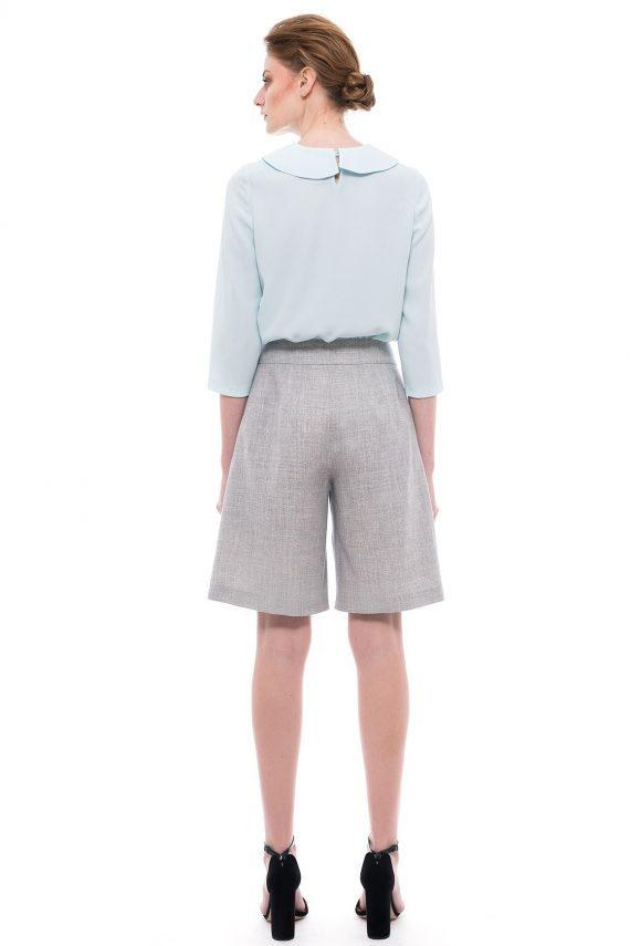 Wide Leg Short Pants