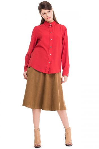 Oversized Viscose Shirt
