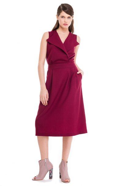 Lapels Dress