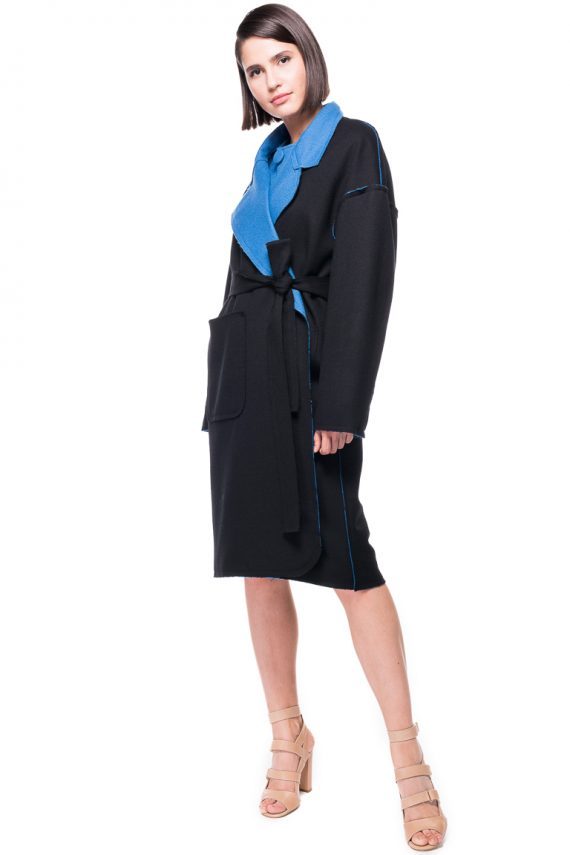 Double Face Oversized Wool Coat