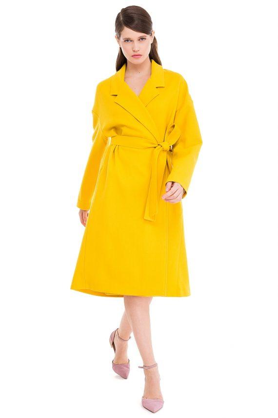 Long Oversized Wool Coat
