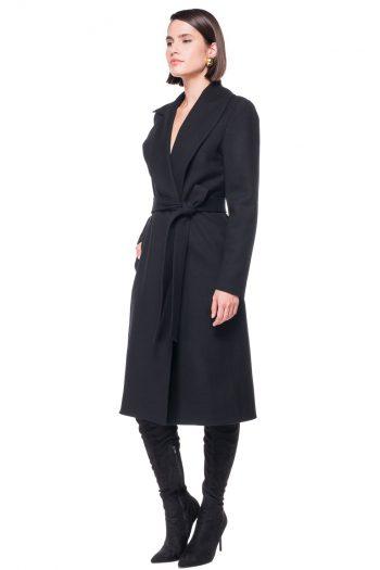 Shawl Lapel vs Wide Peak Lapel Wool Coat