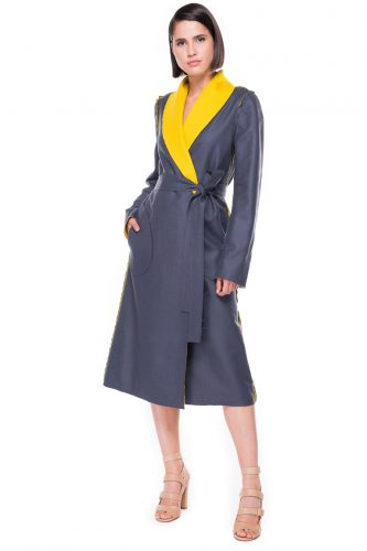 Double Face Shawl Lapel Coat
