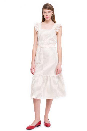 Cotton Blend Lace Dress