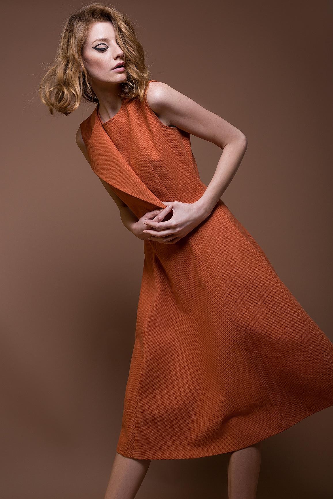 Cotton Lapel Dress Flash Sale Pop-up Shop