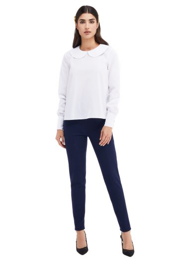 Audrey Cotton Poplin Blouse