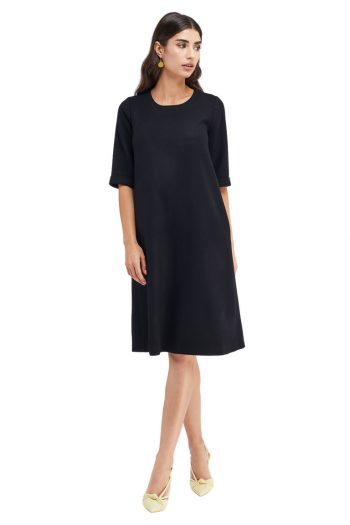 Christine Wool Midi Dress
