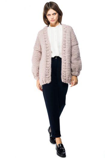 Chunky Wool Cardigan