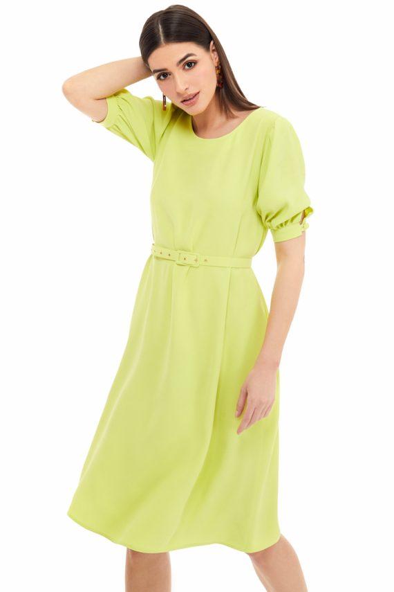 Cutout Back Midi Dress