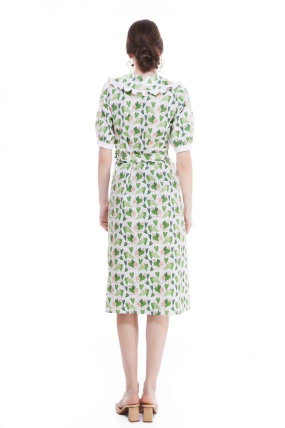 Doris Cotton Shirt Dress