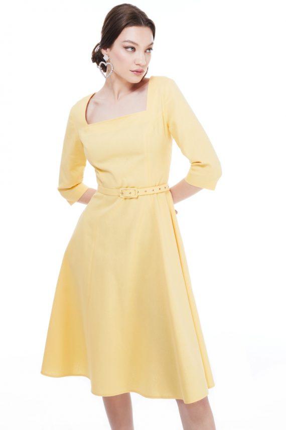 Elizabeth Cotton Midi Dress