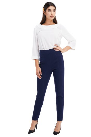 Fayette Wool Slim Leg Pants