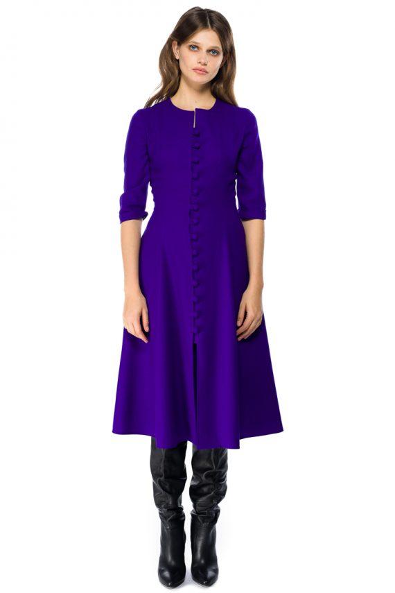 Flattering Wool Dress