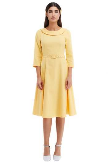 Francoise Cotton Midi Dress