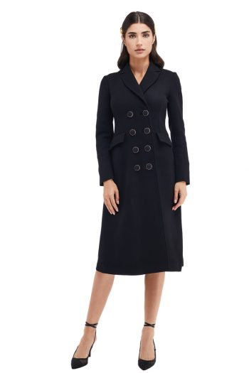 Giselle Double-Breasted Wool Coat