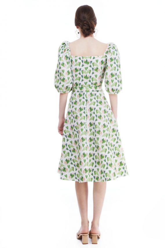 Gloria Cotton Midi Dress