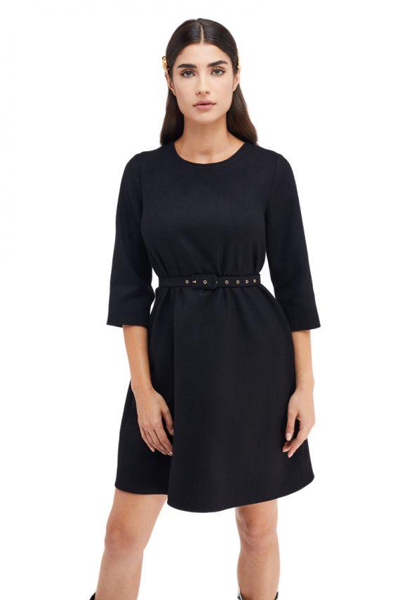 Marie Wool Mini Dress