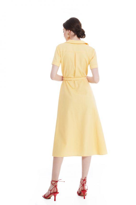 Natalie Cotton Shirt Dress