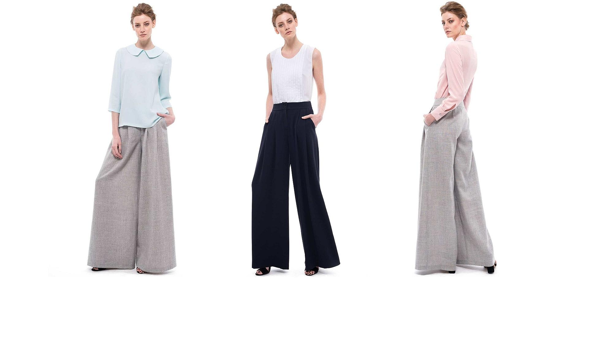 pantalonii palazzo confortabili