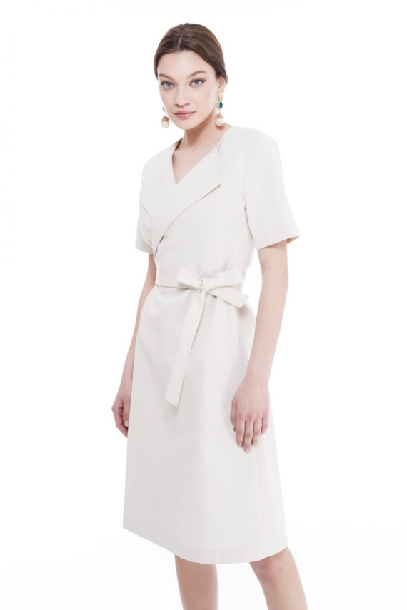 Rhonda Cotton Wrap Dress