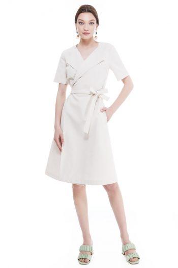 Rhonda Cotton Wrap Dress