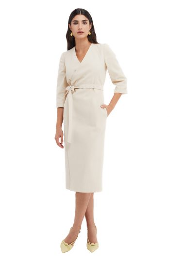 Stella Cotton Wrap Dress