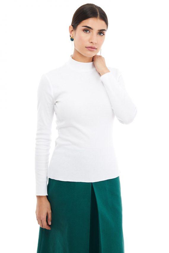 Turtleneck Cotton Top