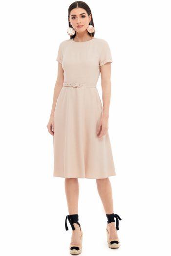 Viscose Midi Dress