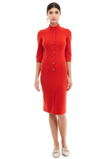 Wool Shirt Dress