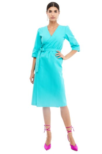 Wrap Cotton Dress